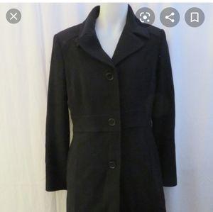 Marc New York Black Single Breasted Coat size 6